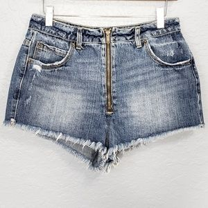 BDG Super High Rise Cheeky Shorts Size 29